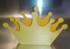 DIY simple one piece crown box set of six by hilemanhouse on Etsy