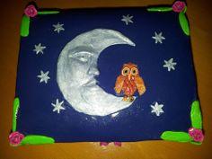 Moon and Owl Box