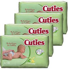 Get Cuties Diapers as low as $0.04 per diaper, shipped!