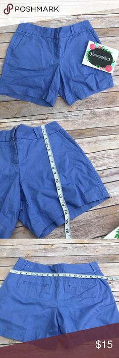 LOFT Blue Casual Shorts size 4 NWT New with tags Loft light blue shorts. Perfect for casual wear 💠From a clean and smoke free home!💠 Add to a bundle to get a private discount 💠 Discount ALWAYS Available on 2+ items💠 No trades, holds, modeling or transactions off of Poshmark.💠 LOFT Shorts