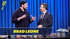 Brad Leone Shows Seth How to Prepare Bison Tartare How To Train Your, How Train Your Dragon, Late Night Seth Meyers, Todd Haberkorn, Fire Lily, Roseanne Barr, Marvel Show, Rita Moreno, Jussie Smollett