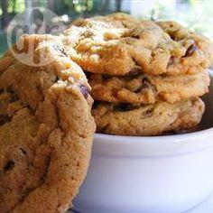 Мягкое печенье с шоколадом и арахисовой пастой - замечательное тесто!