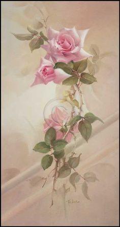 Нежные цветы от Jill Kirstein. Комментарии : LiveInternet - Российский Сервис Онлайн-Дневников