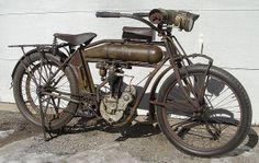 1912 Pope Belt s - Pope Motorcycle.