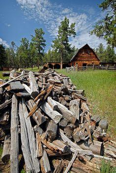Dakotagraph: Barns of the Black Hills