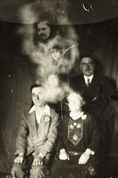 Haunting Spirit Photography from the Age Before Photoshop
