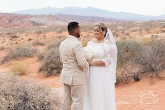 Valley of Fire is one of the most romantic places to get married! #valleyoffirewedding #lasvegaswedding #romanticvegaswedding #desertwedding