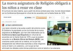 Nueva asignatura de religión
