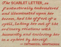 ~Nathaniel Hawthorne