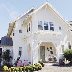 Modern coastal farmhouse