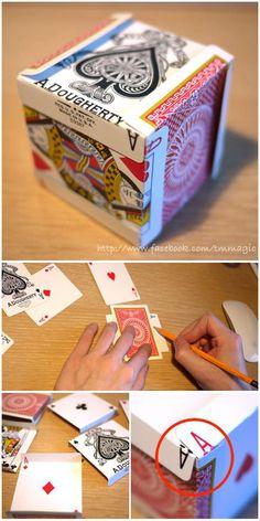 card cube by tomohiro maeda