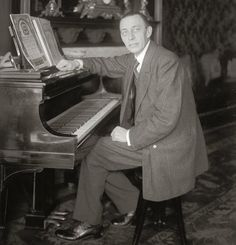Sergei Rachmaninoff A Russian composer and pianist who fled to the United States before the communist take over. Over 100 recordings and one thousand concerts in America. He was as great a pianist as he was a composer. Prelude in C Sharp Minor is probably his most loved work.
