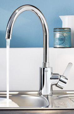 details zu grohe blue k chenarmatur sp ltischarmatur 31323001 starter kit tafelwasser k che. Black Bedroom Furniture Sets. Home Design Ideas