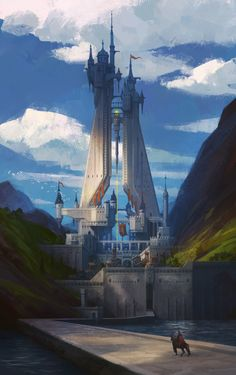 ArtStation - Vertical structure, Hyeon Kim