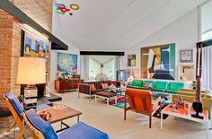 Mid Century Modern Interiors | 20 Mid Century Modern Interiors | Favorite Room Designs