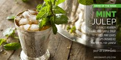Drink of the week: The Mint Julep