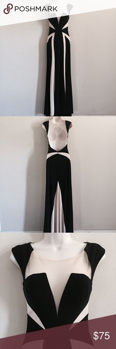 Trendy Black and Nude Mesh Formal Evening Gown [ comment below with questions • reasonable offers accepted • never worn ] 2Cute Prom Dresses Prom