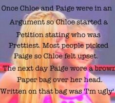 Paige is a very good friend. but poor chlo-bird! everyone is beautiful in there own ways! Facts About Dance, Dance Moms Facts, Dance Moms Dancers, Dance Mums, Dance Moms Girls, Brooke And Paige Hyland, Chloe And Paige, Dance Moms Quotes, Dance Moms Funny