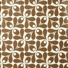 Orla Kiely.  Yes.  Wallpaper in foyer.