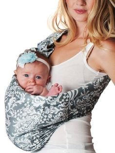 Cute baby carrier!