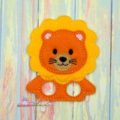 Lion Finger Puppet Imaginative Play Baby by SurprisePartyShop