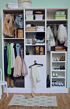 Doll house miniatures, wardrobe | Flickr - Photo Sharing!