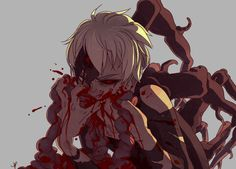   Tokyo Ghoul   okay so the music vid for seasons die one after another (tokyo ghoul root a's end song) is very...interesting...you should check it out >;))
