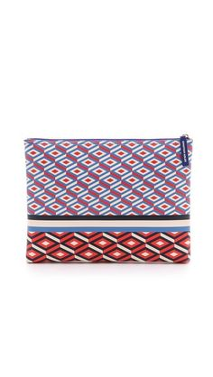 Jonathan Adler Large Pouch Jonathan Adler, Are You The One, Pouch, Bags, Shopping, Random, Gifts, Closet, Handbags