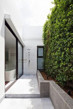 Vertical garden } Thao Dien House by MM Architects