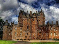 Medieval Cawdor Castle Scotland