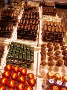 Neuhaus Chocolate, the best Belgian chocolate I've ever tasted.