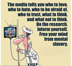 Free your mind from mental slavery! The Great, Media Lies, Free Your Mind, Julian Lennon, Freedom Of Speech, Wake Up, Awakening, In This World, Funny Quotes
