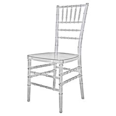 I pinned this Mirage Indoor/Outdoor Chiavari Chair from the Trends of 2012 event at Joss and Main!