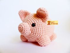 Amigurumi pig FREE crochet pattern — Craft Detonation