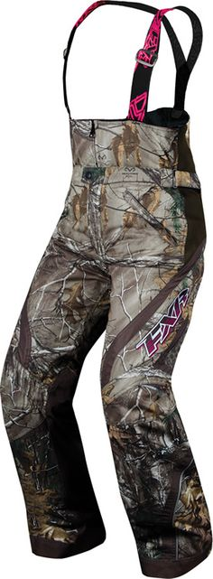 OMG...I want these~~ Realtree Camo Snowmobiling Pants!!!