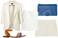 It takes a woman who is confident in her style to wear all white ... can you pull it off?!?!