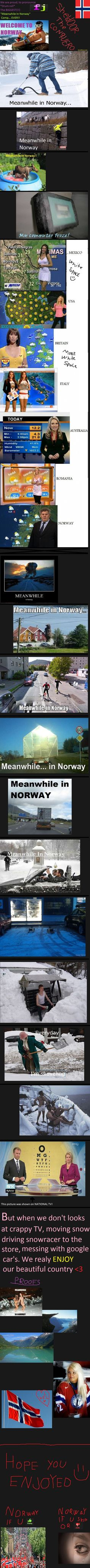 ''Meanwhile in Norway'' comp