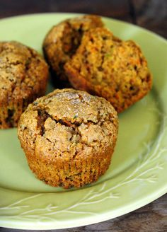 Harvest Carrot and Zucchini Muffins - Baking Bites