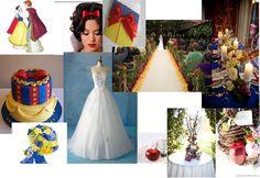 Snow White Wedding Inspiration, find more ideas at facebook.com/atlasteventplanning Disney Dream, Disney Magic, Wedding 2017, Dream Wedding, Wedding Inspiration, Wedding Ideas, Inspiration Boards, Wedding Stuff, Snow White Wedding