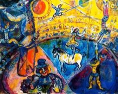 Marc Chagall - The Circus - 1964