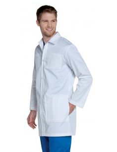 "LANDAU MEN'S ANTIMICROBIAL 35"" LAB COAT Lab Coats, Jackets, Fashion, Down Jackets, Moda, Fashion Styles, Jacket, Fashion Illustrations, Fashion Models"