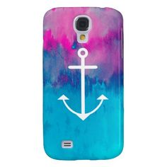 Ombre Nautical Samsung Galaxy S4 Case