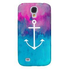 Ombre Nautical Samsung Galaxy S4 Case