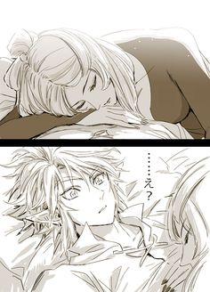 Link & Midna| Twilight Princess