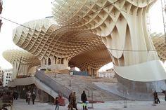 Metropol Parasol, en Sevilla