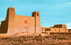 Cemetery of the Week #122: the Graveyard at Acoma Pueblo ...