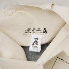 CANVAS TOTE BAG designed by Satoshi Suzuki - TACOMA FUJI RECORDS ONLINE STORE