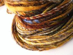 Hebridean amble handspun yarn silk mix  102 yrds by greybirdstudio, £30.00