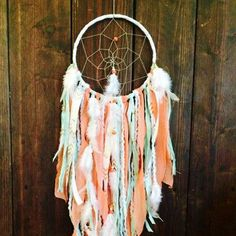 "Create a dramatic statement with this gorgeous dream catcher! - 7"" Stainless Steel Hoop - This dream catcher is made to order and may have slight differences - Ships in 1-2 Weeks"