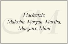 Preppy Names - Preppy Baby Names - Town & Country